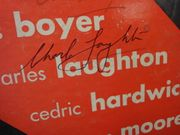 Laughton, Charles  Charles Boyer Agnes Moorehead Don Juan In Hell 1952 Original Cat LP Signed Autograph Cover Photos