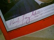 Laughton, Charles  Time Magazine 1952 Signed Autograph Photos Color Cover