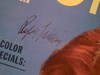 Laurie, Piper  Photoplay Magazine 1953 Signed Autograph Color Cover Photo