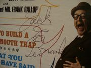 Leonard, Jack E LP Signed Autograph Scream On Someone You Love Today