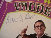 Lewis, Robert Q LP Signed Autograph IM Just Wild About Vaudeville