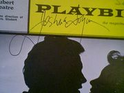 Logan, Joshua  Hot September 1965 Playbill Signed Autograph