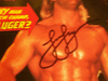 Luger, Lex  World Championship Wrestling 1992 Marvel Comic Book Signed Autograph Color Cover Photo WCW