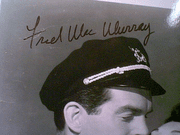 MacMurray, Fred  Vintage Movie Scene Photo Signed Autograph