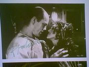 Malkovich, John  & Madonna Shadows & Fog 1991 Photo Signed Autograph Two Movie Scenes