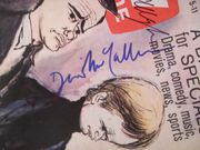 Man from UNCLE U.N.C.L.E. Robert Vaughn David McCallum TV Guide Signed Autograph Nov 5 1966