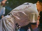 Mantle, Mickey  My Favorite Hits 1958 LP Signed Autograph Baseball Color Cover Photo