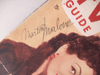 Marlowe, Marion TV Guide Signed Autograph Dec 11 1954
