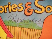 Marmaduke Paul Winchell LP Signed Autograph Stories And Songs 1982