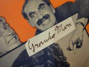 Marx Brothers Groucho Marx Harpo Marx Chico Marx A Night At The Opera 1935 Sheet Music Signed Autograph Alone Cover Photos