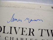 Mason, James LP Signed Autograph Oliver Twist By Charles Dickens 1962