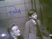 Mcdowall, Roddy  & Elsa Lanchester Lassie Come Home Photo Signed Autograph 1971