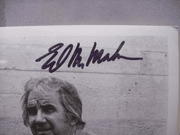 Mcmahon, Ed Photo Signed Autograph Black And White 1973