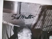 Melton, Sid Photo Signed Autograph Black And White 1956