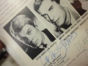 Mission Impossible 1967 LP Martin Landau Peter Graves Greg Morris Peter Lupus Signed Autograph Photos Theme