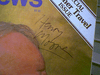 Moore, Henry Art Magazine 1978 Signed Autograph Color Cover Photo