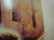 Moore, Roger  and Susannah York Gold 1974 LP Signed Autograph Color Photos
