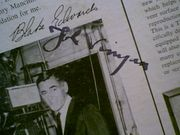 Mr. Lucky John Vivyan LP 1960 Signed Autograph