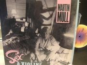 Mull, Martin (Abc - 1064) Sex And Violins Signed Autograph LP