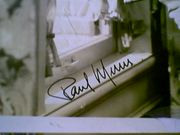 Muni, Paul  1940S Photo Signed Autograph Vintage Movie Scene