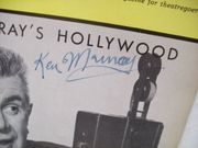 Murray, Ken Playbill Signed Autograph Hollywood 1965