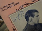 Cooper, Gary and Nancy Carroll A Precious Little Thing Called Love 1928 Sheet Music Signed Autograph The Shopworn Angel