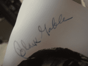 Gable, Clark Gone With The Wind Publicity Photo Signed Autograph