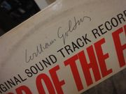Golding, William Lord Of The Flies Sound Track LP 1963 Signed Autograph