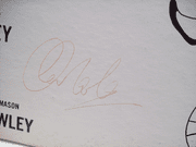 Newley, Anthony LP Signed Autograph Stop The World I Want To Get Off