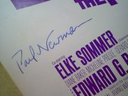 Newman, Paul  Elke Sommer The Prize 1963 Sheet Music Signed Autograph