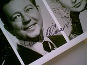 OConnor, Donald  & Debbie Allen 1986 Photo Signed Autograph 40Th Annual Tony Awards