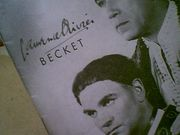 Olivier, Laurence & Anthony Quinn Becket 1961 Playbill Signed Autograph Cover Photo