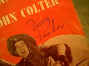 Parker, Fess Westward Ho The Wagons 1956 45 Rpm Record With Picture Sleeve Wringle Wrangle The Ballad Of John Colter Disney