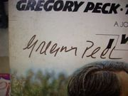Peck, Gregory  And Tuesday Weld I Walk The Line 1970 Movie Soundtrack LP Signed Autograph Color Cover Photo