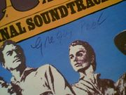 Peck, Gregory  Jean Simmons The Big Country LP 1958 Signed Autograph