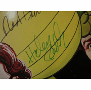 Pete's Dragon Helen Reddy Red Buttons Mickey Rooney Shelley Winters 1977 Soundtrack LP Signed Autograph Disney