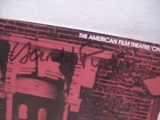 Pinter, Harold Movie Program Signed Autograph The Homecoming 1973