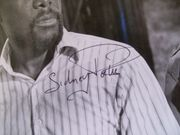 Poitier, Sidney Photo Signed Autograph The Wilby Conspiracy 1975