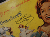 "Powell, Jane and Howard Keel ""Seven Brides For Seven Brothers"" 1954 Ten Inch LP Signed Autograph"