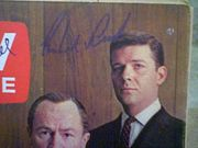Reed, Robert  and E.G. Marshall TV Guide Magazine 1963 Signed Autograph The Defenders Color Cover Photo