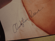 Reeve, Christopher Color Photo Signed Autograph Early