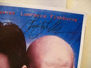 Reeves, Keanu Laurence Fishburne Mini Poster Signed Autograph The Matrix 1999