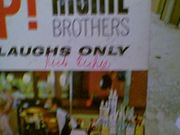 Richie Brothers LP Signed By 3 Autograph Bottoms Up! Adult Comedy