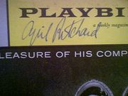Ritchard, Cyril  1959 Playbill The Pleasure Of His Company Signed Autograph Cover Photo