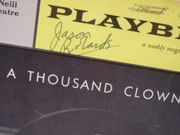 Robards, Jason Playbill Signed Autograph A Thousand Clowns 1962