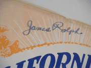 Rolph, James Governor Sheet Music Autograph Signed California