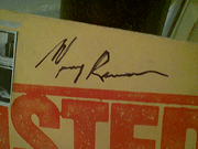 Roman, Murray LP Signed Autograph Busted