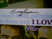 Roman, Murray LP Signed Autograph You CanT Beat People Up And Have Them Say I Love You