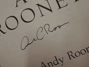 Rooney, Andy  Sincerely 1999 Book Signed Autograph First Edition