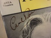 Rose, George A Man For All Seasons 1963 Playbill Signed Autograph Cover Photo